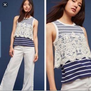 anthropologie/postmark blouse
